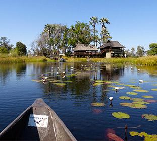 Paysage Botswana
