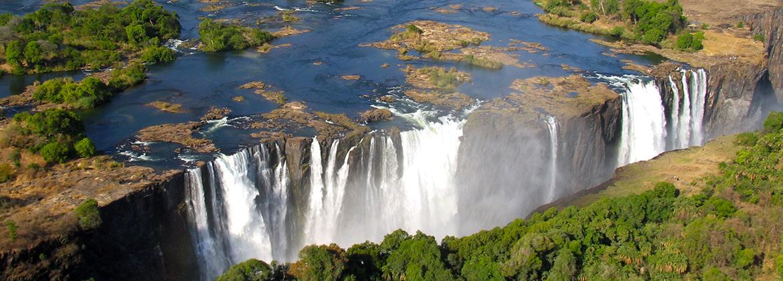 Chutes Victoria- Chobe Nord – Savuti – Okavango