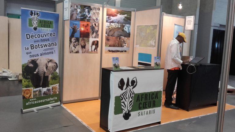 AFRICA COEUR SAFARIS PRESENT AU SALON MONDIAL DU TOURISME A PARIS !